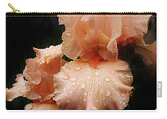 Pink Iris 1 Carry-all Pouch by Bruce Bley
