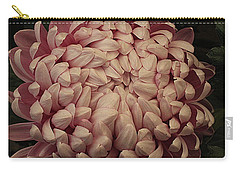 Pink Japanese Chrysanthemums Carry-all Pouch by Dora Sofia Caputo Photographic Art and Design
