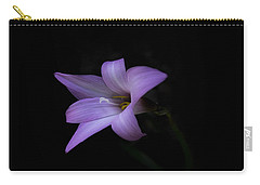 Carry-all Pouch featuring the photograph Pink by Judy Hall-Folde