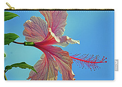 Pink Lady Hibiscus Carry-all Pouch