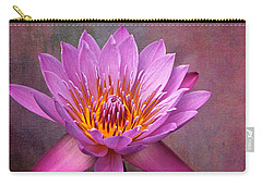 Pink Lady Carry-all Pouch by Judy Vincent