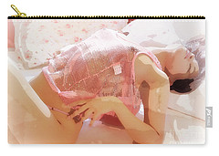 Pink Lady Carry-all Pouch by Kiran Joshi