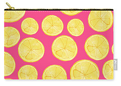 Pink Lemonade Carry-all Pouch by Allyson Johnson