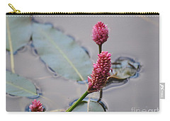 Pink Lily Pad Carry-all Pouch