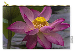 Pink Lotus In Vietnam Carry-all Pouch