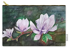 Pink Magnolia - Painting Carry-all Pouch