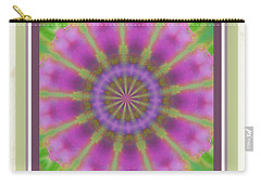 Pink Mandala Bloom Carry-all Pouch