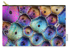 Carry-all Pouch featuring the photograph Pink Master Bubble by Jean Noren