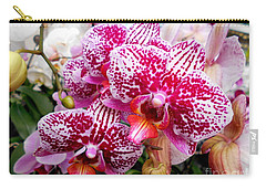 Pink Moth Orchids Carry-all Pouch