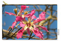 Pink Orchid Tree Carry-all Pouch