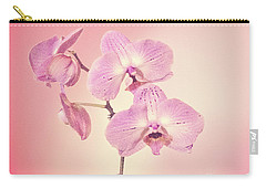 Pink Orchids 2 Carry-all Pouch