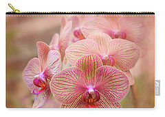 Pink Orchids Carry-all Pouch by Robert FERD Frank
