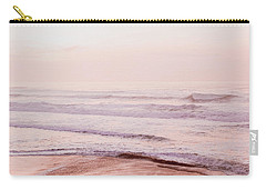 Carry-all Pouch featuring the photograph Pink Pacific Beach by Bonnie Bruno