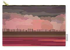 Pink Park Carry-all Pouch by Val Arie