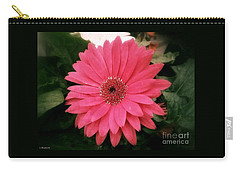 Pink Passion Carry-all Pouch by Christy Ricafrente