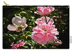 Carry-all Pouch featuring the photograph Pink Passion  by Joann Copeland-Paul