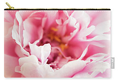 Pink Peony 2 Carry-all Pouch by Elena Nosyreva