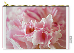 Carry-all Pouch featuring the photograph Pink Perfection by Wendy Wilton