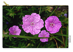 Pink Petals Carry-all Pouch by Tim Good
