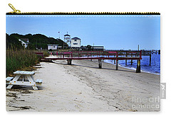 Pink Pier Southport, North Carolina Carry-all Pouch