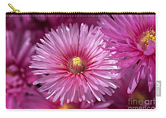 Pink Pigface Flowers Carry-all Pouch