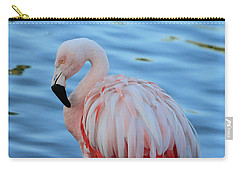 Pink Pose Carry-all Pouch by Shoal Hollingsworth