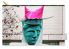 Pink Pussy Hat - Women's March, Madison, Wisconsin Carry-all Pouch