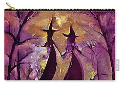 Pink Quartz Witchy Women By Lisa Kaiser Carry-all Pouch