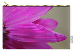 Pink Ray Florets Carry-all Pouch