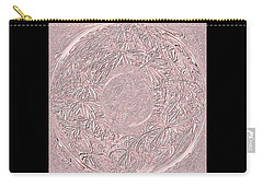 Carry-all Pouch featuring the digital art Pink Ring. Special by Oksana Semenchenko