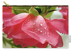 Pink Rose #3 Carry-all Pouch