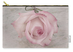 Pink Rose Beauty  Carry-all Pouch by Sandra Foster