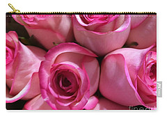 Pink Rose Bouquet Carry-all Pouch