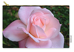 Pink Rose Carry-all Pouch by Carla Parris