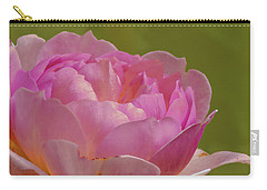 Carry-all Pouch featuring the photograph Pink Rose #d3 by Leif Sohlman
