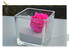 Pink Rose In Venice Carry-all Pouch