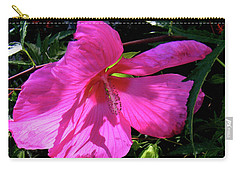 Pink Rose Mallow In Colorado Carry-all Pouch