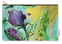 Pink Rosebuds Carry-all Pouch