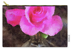 Pink Rozalea Carry-all Pouch