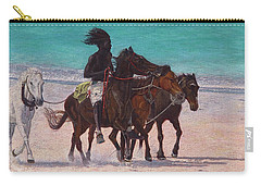 Pink Sand Rider Carry-all Pouch