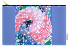 Pink Shell Fantasia Carry-all Pouch