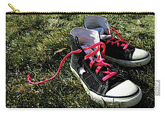 Pink Shoe Laces Carry-all Pouch