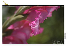 Pink Side Of Gladioli Carry-all Pouch