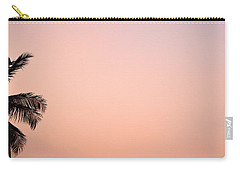 Pink Skies Carry-all Pouch by Corinne Rhode