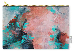 Pink Sky Carry-all Pouch by Suzzanna Frank