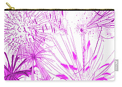 Pink Splash Watercolor Carry-all Pouch by Methune Hively