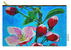 Pink Spring Carry-all Pouch by Ana Maria Edulescu