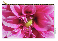 Pink Summer Flower Macro Carry-all Pouch