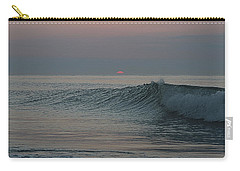Pink Sun Sunrise Carry-all Pouch by Robert Banach