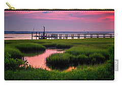 Pink Sunrise At Bogue Sound Carry-all Pouch